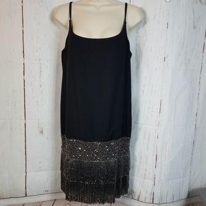 Bailey 44 m Whodunit Dress Beaded Flapper Dress